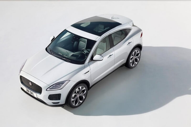 Jaguar E-Pace India Revealed top view
