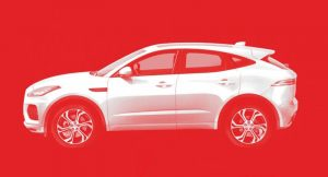 Jaguar E-Pace India Speculative rendering