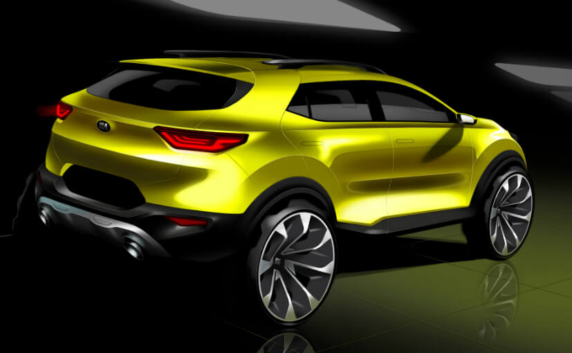 Kia Stonic Design Sketch Rear1