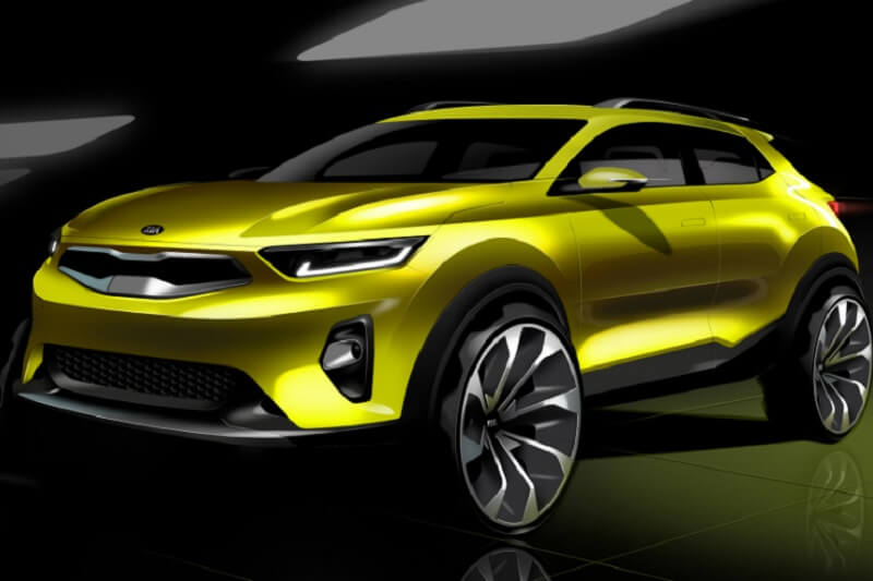 Kia Stonic Design Sketch