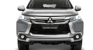 Mitsubishi Pajero Sport 2018 Front