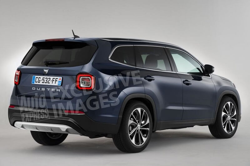 New 2018 Renault Duster Rear