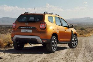 New 2018 Renault Duster Revealed Rear