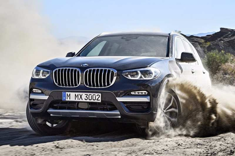New BMW X3 2018 Front Revealed (2)