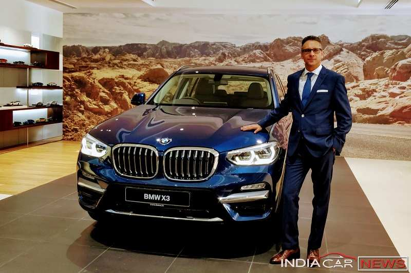 New BMW X3 2018 India