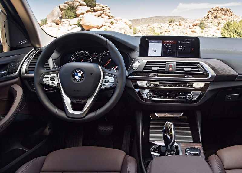 New BMW X3 2018 Interior Revealed