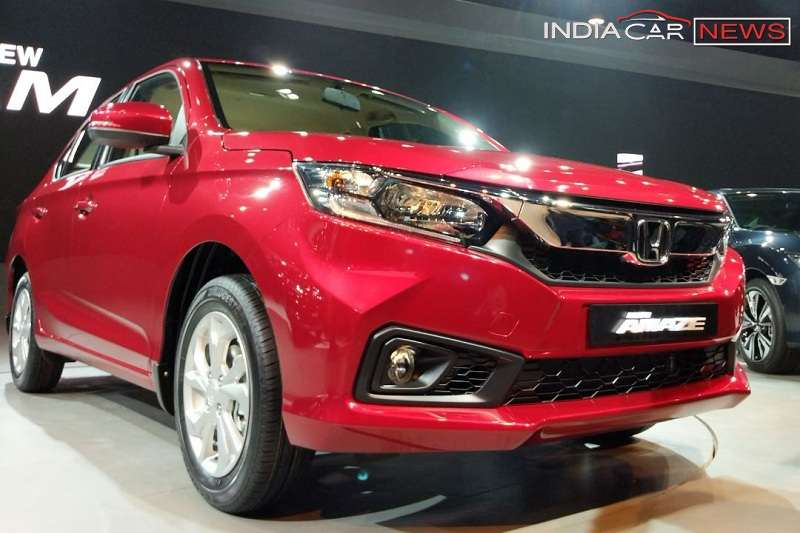 New Honda Amaze 2018 India Launch