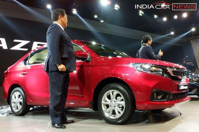 New Honda Amaze 2018 India 5