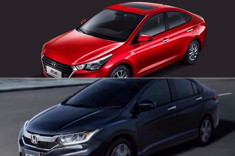 New Hyundai Verna Vs Honda City 2017