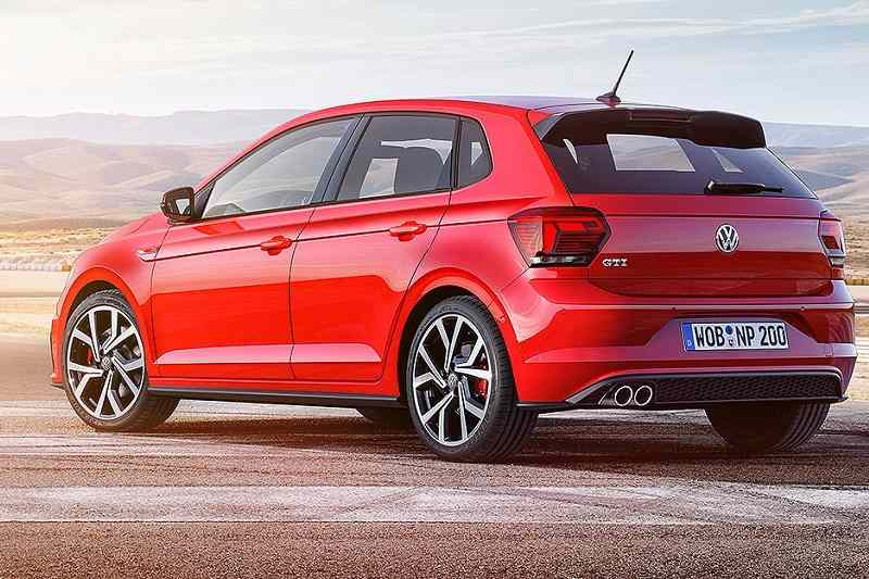 New Volkswagen Polo 2017 India rear side