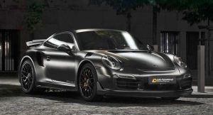 Porsche 911 Turbo S Dark Knight Batmobile