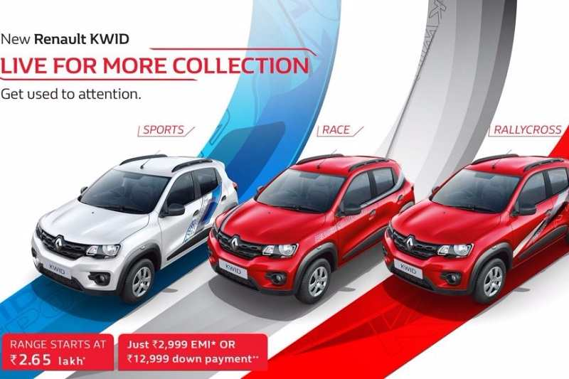 Renault Kwid Live for More Collection
