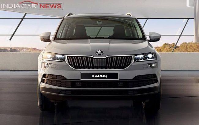 Skoda Karoq Compact SUV India front