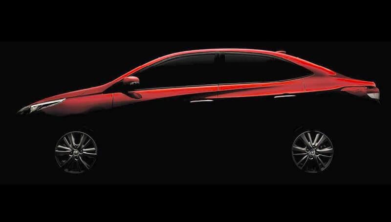 Toyota Vios teaser