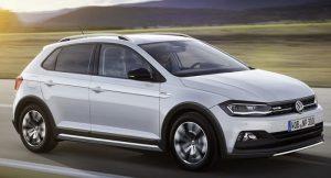 Volkswagen Cross Polo 2018 Rendering