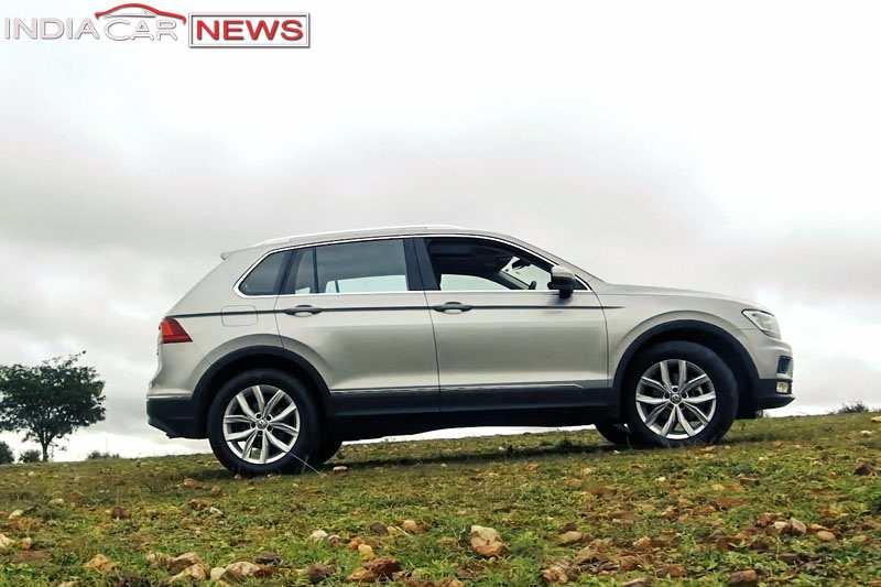 Volkswagen Tiguan Handling Review