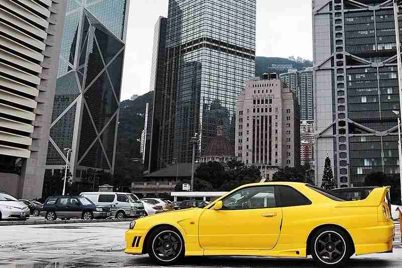 World's Most Expensive Parking Lot In Hong Kong