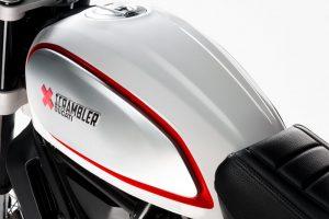 2017 Ducati Scrambler Desert Sled Fuel Tank
