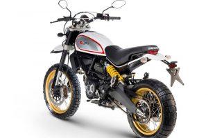 2017 Ducati Scrambler Desert Sled Rear
