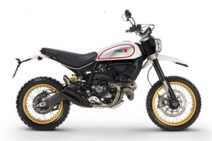 2017 Ducati Scrambler Desert Sled Side Profile