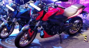 2018 Bajaj Dominar 400 Red Unveiled