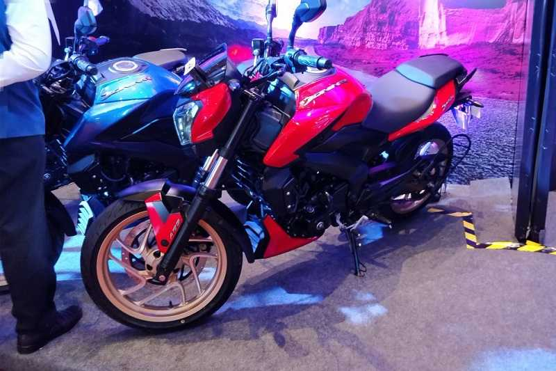 2018 Bajaj Dominar 400 Red Launch