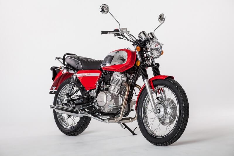 2018 Jawa 350 Front