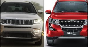 2018 Mahindra XUV500 Vs Jeep Compass