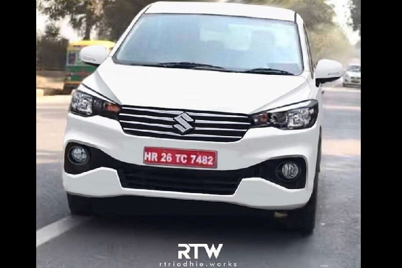 2018 Maruti Ertiga Rendered