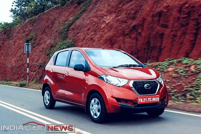 Datsun redigo 1000cc review side