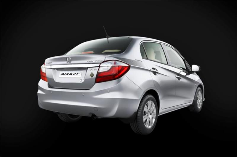 Honda Amaze Privilege Edition Rear