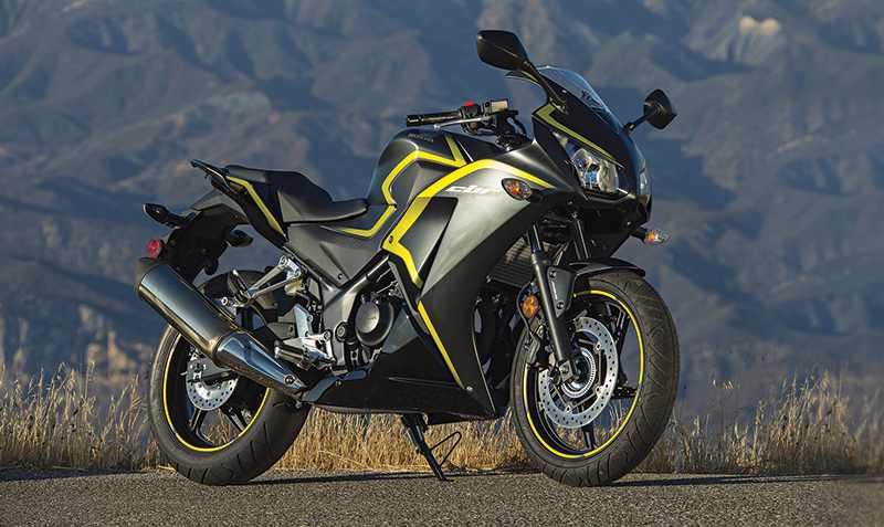 Bikes at Auto Expo 2018 - Honda CBR300R