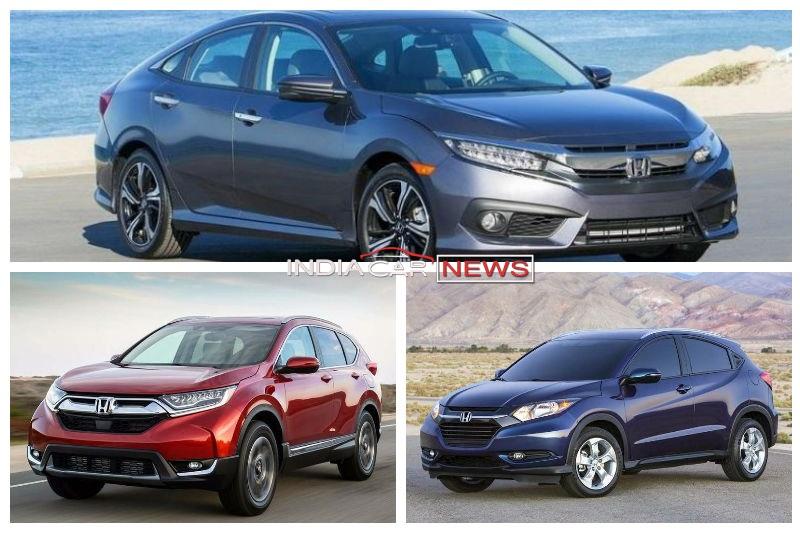 Honda Cars At Auto Expo 2018
