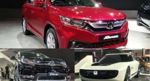 Honda Cars at Auto Expo 2018