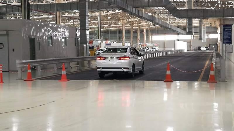 Honda Tapukara Testing zone