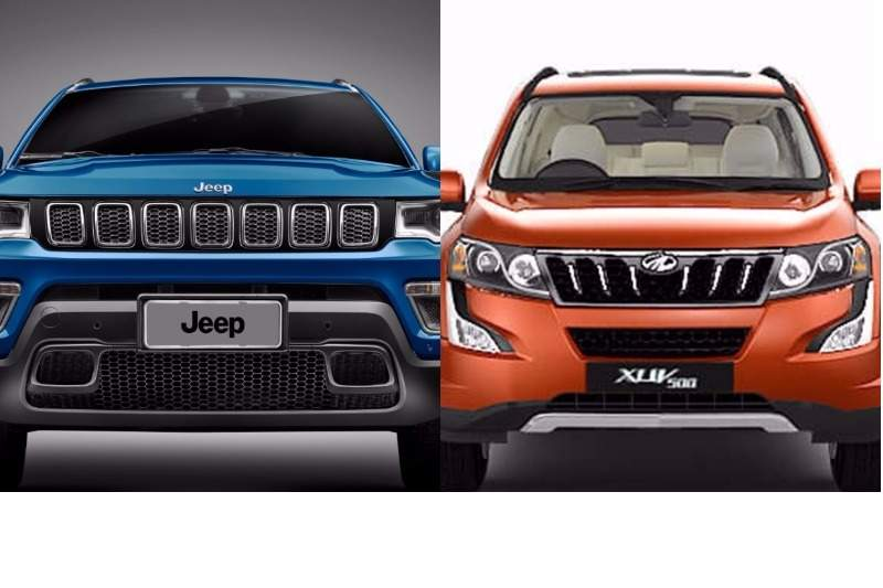 Jeep Compass Vs Mahindra Price Specifications Features