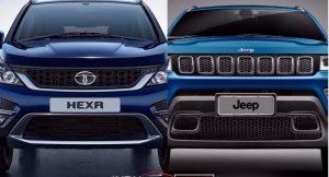 Jeep Compass Vs Tata Hexa (2)