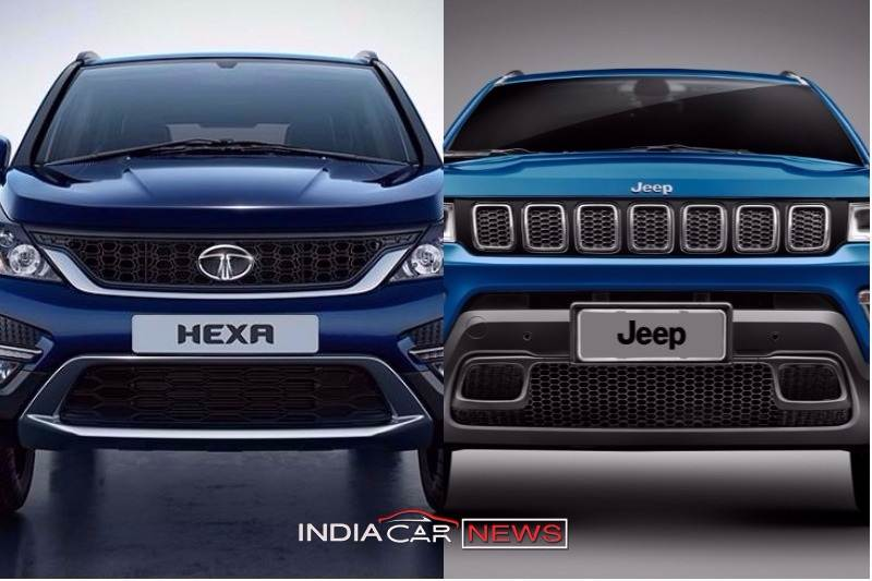 Jeep Compass Vs Tata Hexa (2)