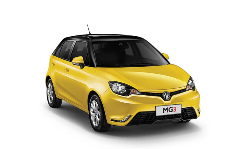 MG Cars At Auto Expo 2018