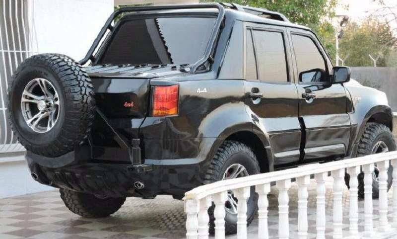 Mahindra Scorpio Modified Rear