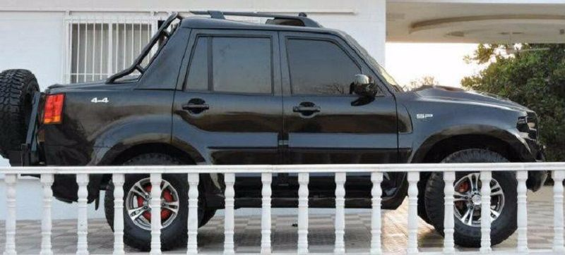 Mahindra Scorpio Modified Side