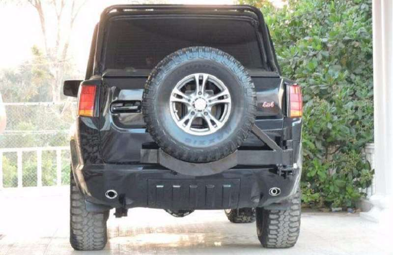 Mahindra Scorpio Modified Spear Wheel
