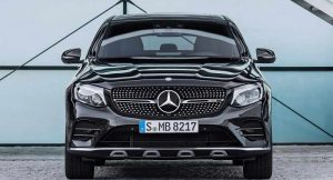 Mercedes AMG GLC 43 Coupe India front