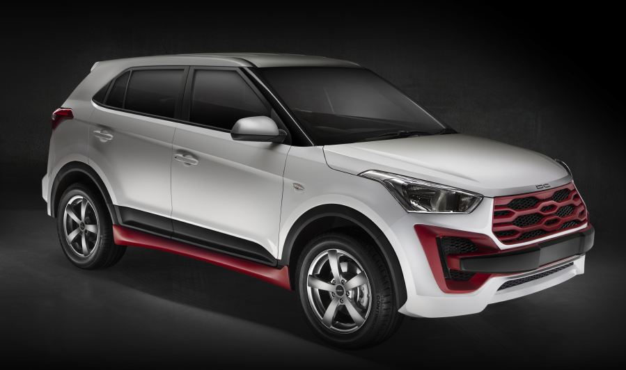 Modified DC Design Hyundai Creta Front
