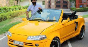Modified Maruti Suzuki 800 convertible Front resized