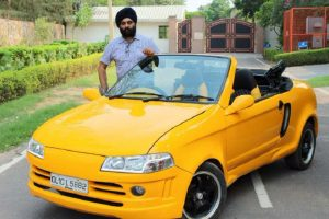Modified Maruti Suzuki 800 convertible Front resized