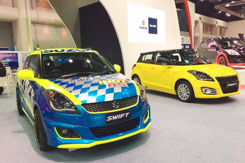 Modified Maruti Swift at Bangkok International Auto Salon