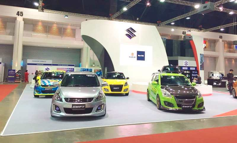 Modified Suzuki Swift at Bangkok International Auto Salon 2017