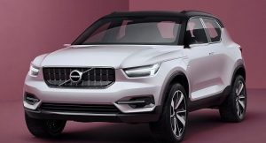 New 2017 Volvo XC40 SUV India