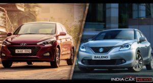2018 Hyundai Elite i20 Vs Maruti Baleno